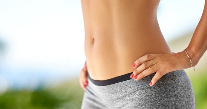get a flat stomach in a week